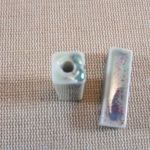 Perles céramique rectangle 28mmx9mm – lot de 2