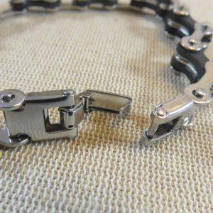 Bracelet punk chaîne de moto bijoux motard métal inoxydable