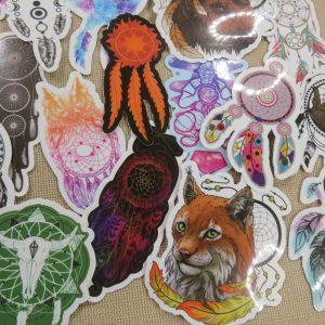 Stickers attrape rêve scrapbooking étiquette autocollant 20pcs