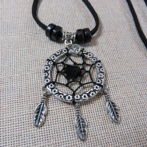 Collier Dreamcatcher bijoux attrape rêve pour femme