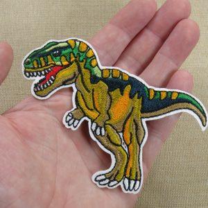 Patch dinosaure écusson thermocollant à repasser