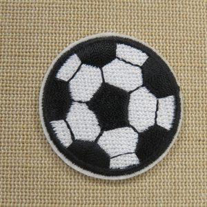 Patch Football ballon thermocollant – écusson textile fan de foot